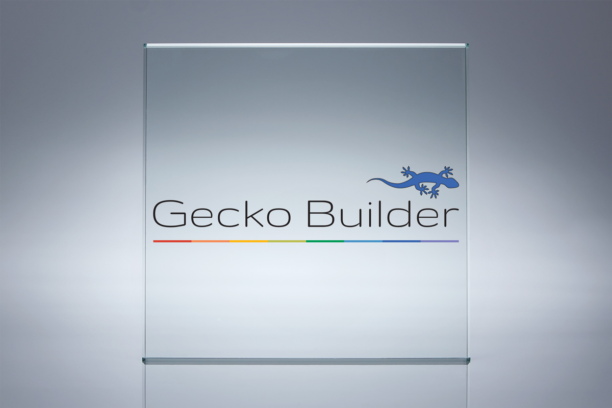 Gecko Builder Logo Display